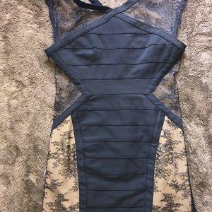 175b489b16f7 BCBGMAXAZRIA Dresses | Navy Blue Bcbg Bodycon Dress | Poshmark